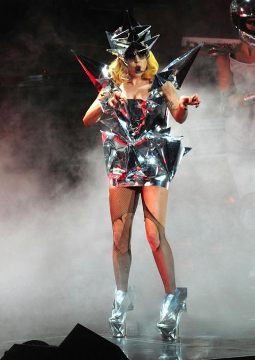 Lady Gaga collaboration with Giorgio Armani